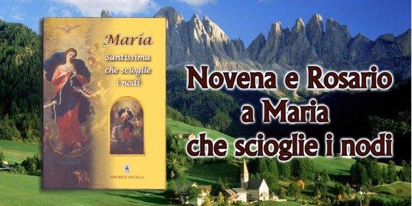 MARIA SANTISSIMA CHE SCIOGLIE I NODI