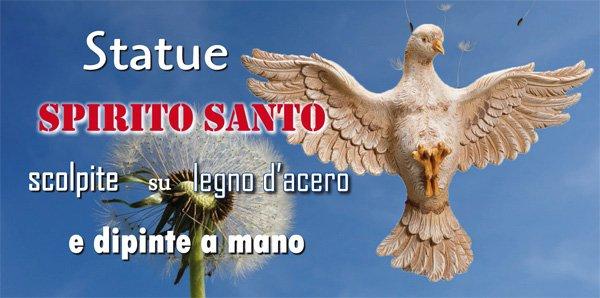 Statue Spirito Santo