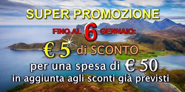 Super promozione 5 euro