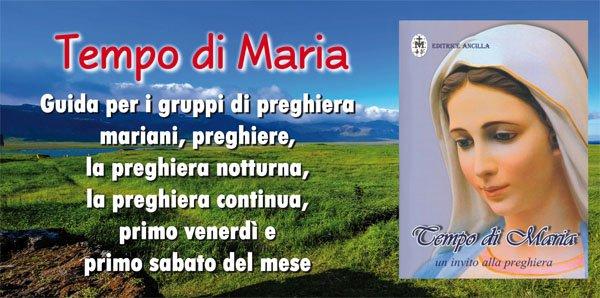 TEMPO DI MARIA
