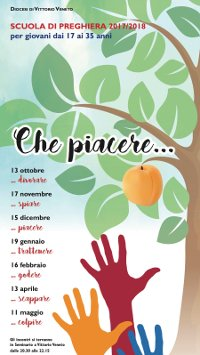 11 MAGGIO A VITTORIO VENETO: SCUOLA DI PREGHIERA PER GIOVANI