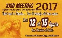 12 AGOSTO A SCHIO VI: MEETING INTERNAZIONALE DEI GIOVANI primo giorno