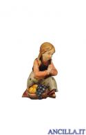 Bambina inginocchiata Kostner serie 12 cm