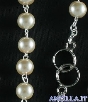 Corona del rosario degli sposi for Degli sposi