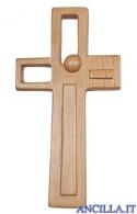 """Croce """"Stile"""" Ambiente Design legno di ciliegio"""