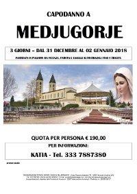 CAPODANNO A MEDJUGORJE DAL 31 DICEMBRE 2017 AL 2 GENNAIO 2018 (Partenza da Vicenza, Padova)