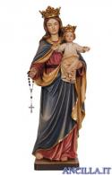 Madonna del Rosario olio