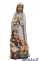 Madonna di Fatima con i tre pastorelli acquarello